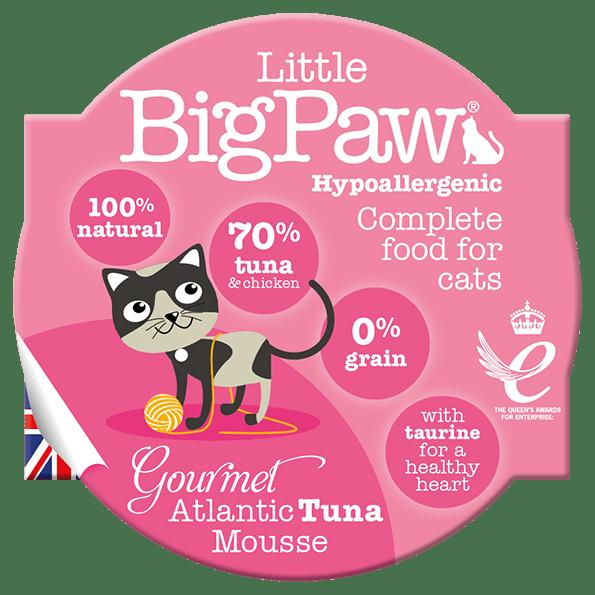little big paw gourmet atlantic tuna mousse våtfôr